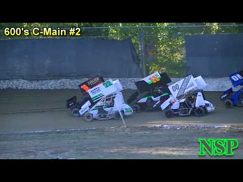 July 21, 2018 Clay Cup Nationals Night #3 600 Open Mini Sprints C-Mains #1 & 2 Deming Speedway