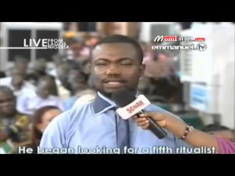 "SCOAN 25/05/14: ""I Made Him Drink & Smoke 3 Packets Of Cigarettes In 30 Minutes"" Emmanuel TV"