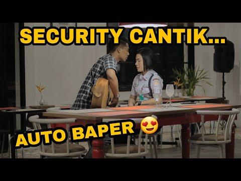 TER NEKAT  !! BAPERIN SECURITY GALAK !?! JOMBLO AUTO SENYUM 🤣