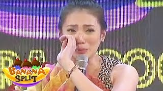 Aiko Climaco cries on Banana Split's surprise birthday celebration ...