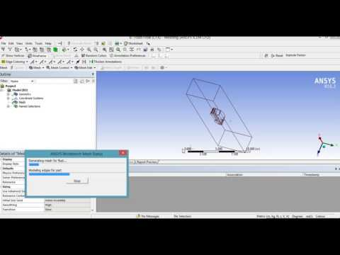 ANSYS Aerodynamics Simulation of a Jeep Car and drag coefficient calculation Tutorial PART 1