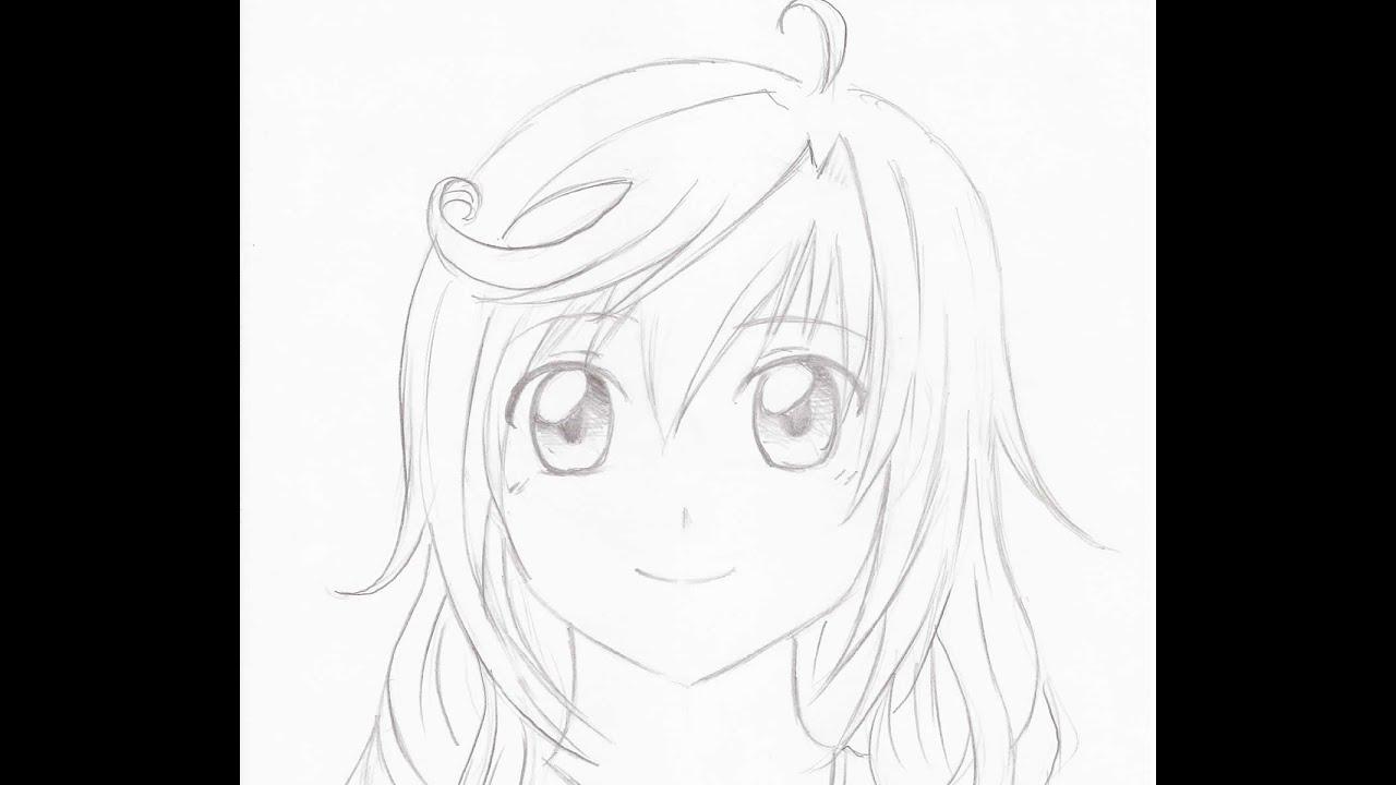 Rostos Desenhos: Como Desenhar Mangá