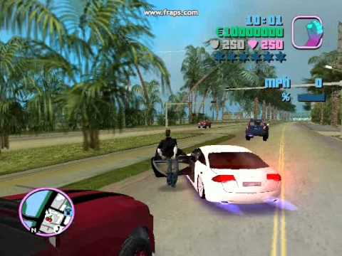 Gta Vice City 2013 Underground Awsome Cars Youtube