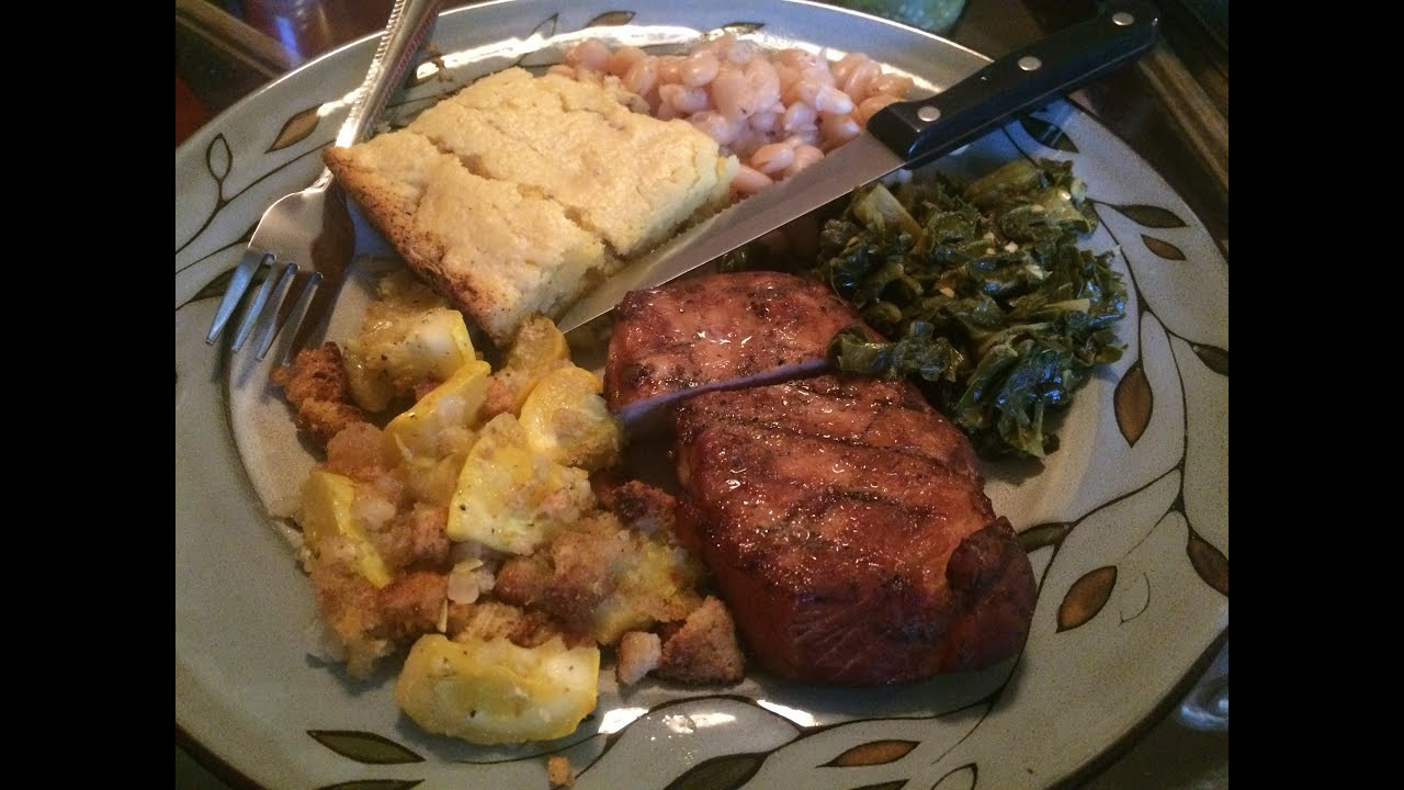 Easy Yellow Squash Casserole ~ Smoked Chops, Sunday Dinner ...
