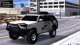 4Runner Damello Off Road Grand Theft Auto San Andreas GTA SA MOD