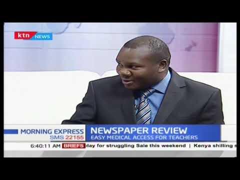 Newspaper Review: EACC officers raid Obado\'s homes in Migori, Nairobi