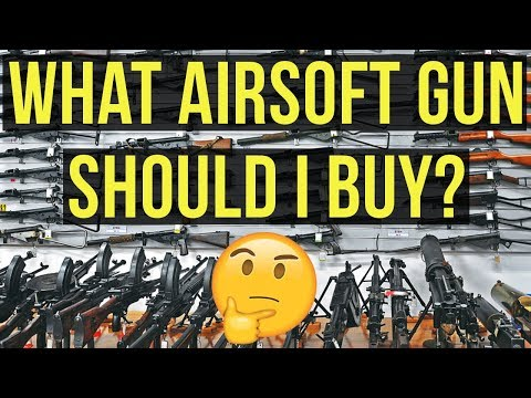 What Airsoft Gun Should I Buy?  Guide to Buying Your First Airsoft Gun