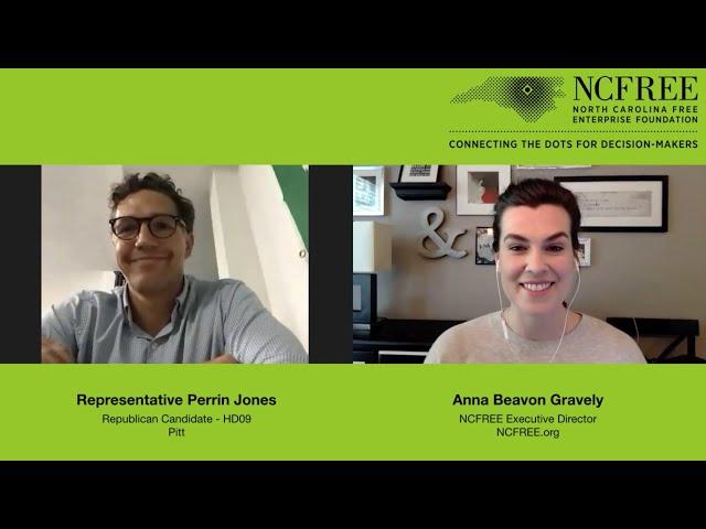 NCFREE Candidate Interview – Representative Perrin Jones, HD09