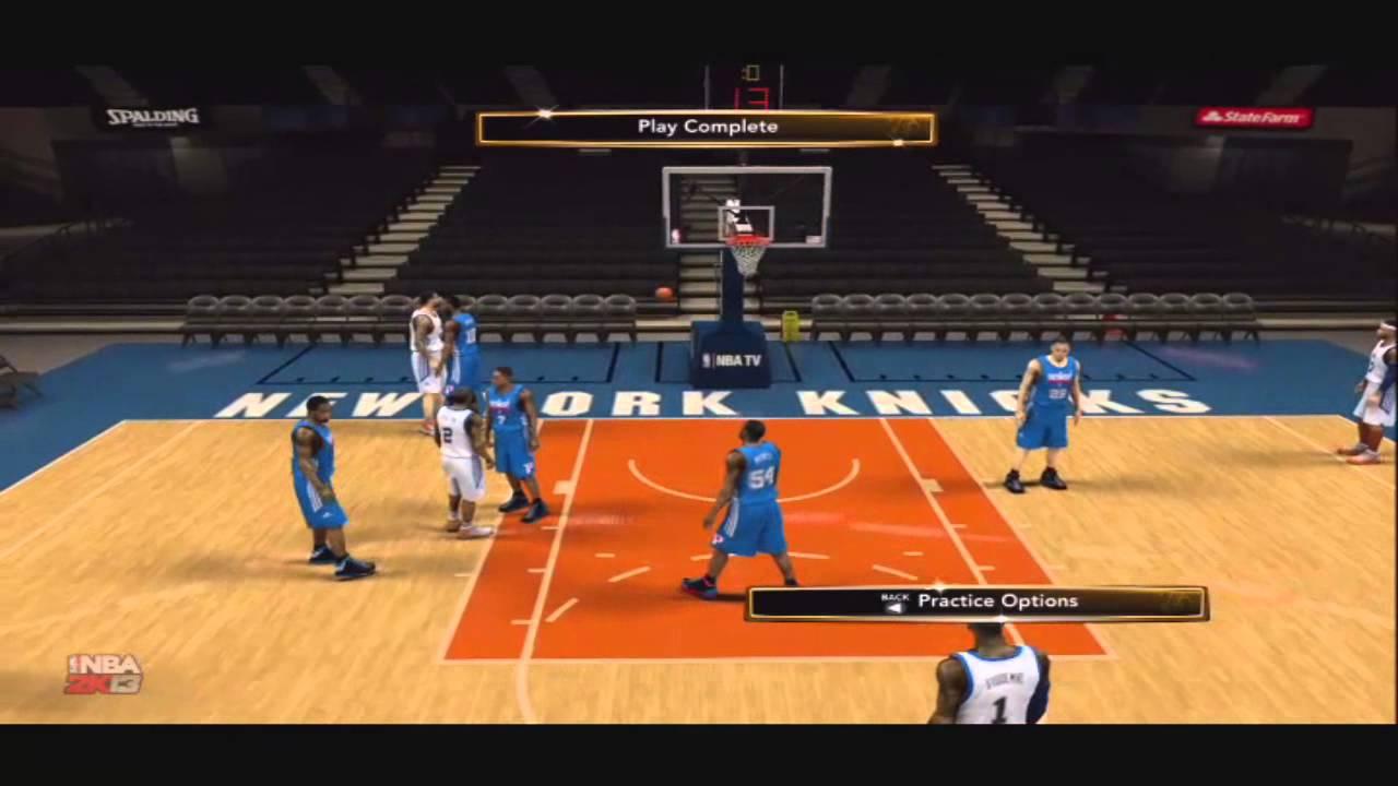 NBA 2K13 Tips- New York Knicks Blue 4 Screen Amare Stoudemire