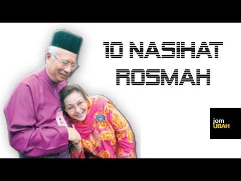 10 Nasihat Rosmah Mansor - berani tengok??