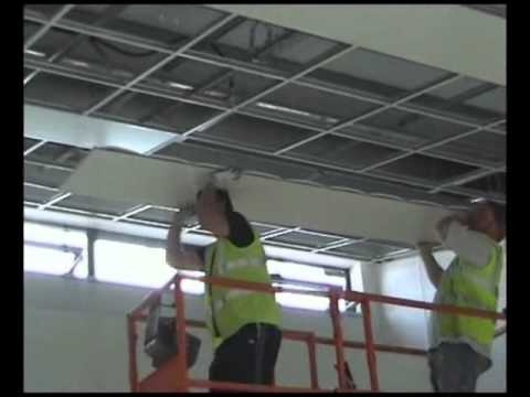 Hasl Thermatile Plus Radiant Ceiling Panel Installation