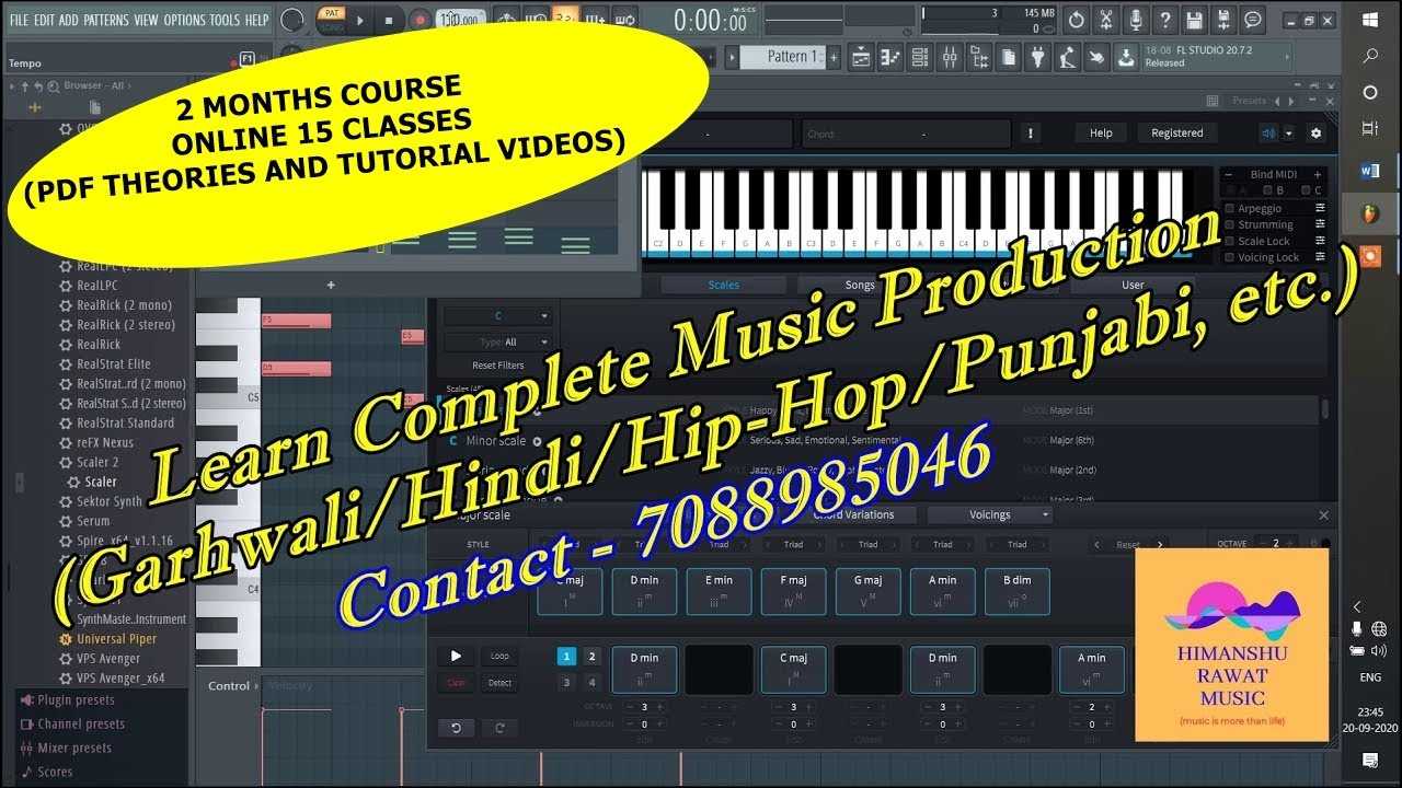 Demo Of Class 11 Song Production Part 1 Music Production Course Tutorials Youtube