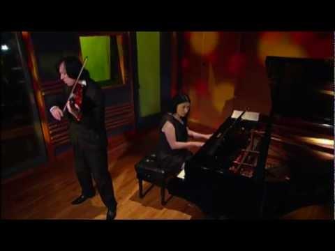 KBS TV Classic Odyssey Maxim Fedotov violin Galina Petrova piano