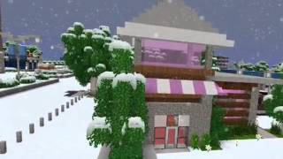 Travis Song - Take a hint (Travis) Minecraft My street (Music Video)