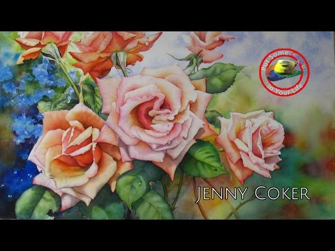 Oil painting techniques and tutorial with Jenny Coker I Colour In Your Life