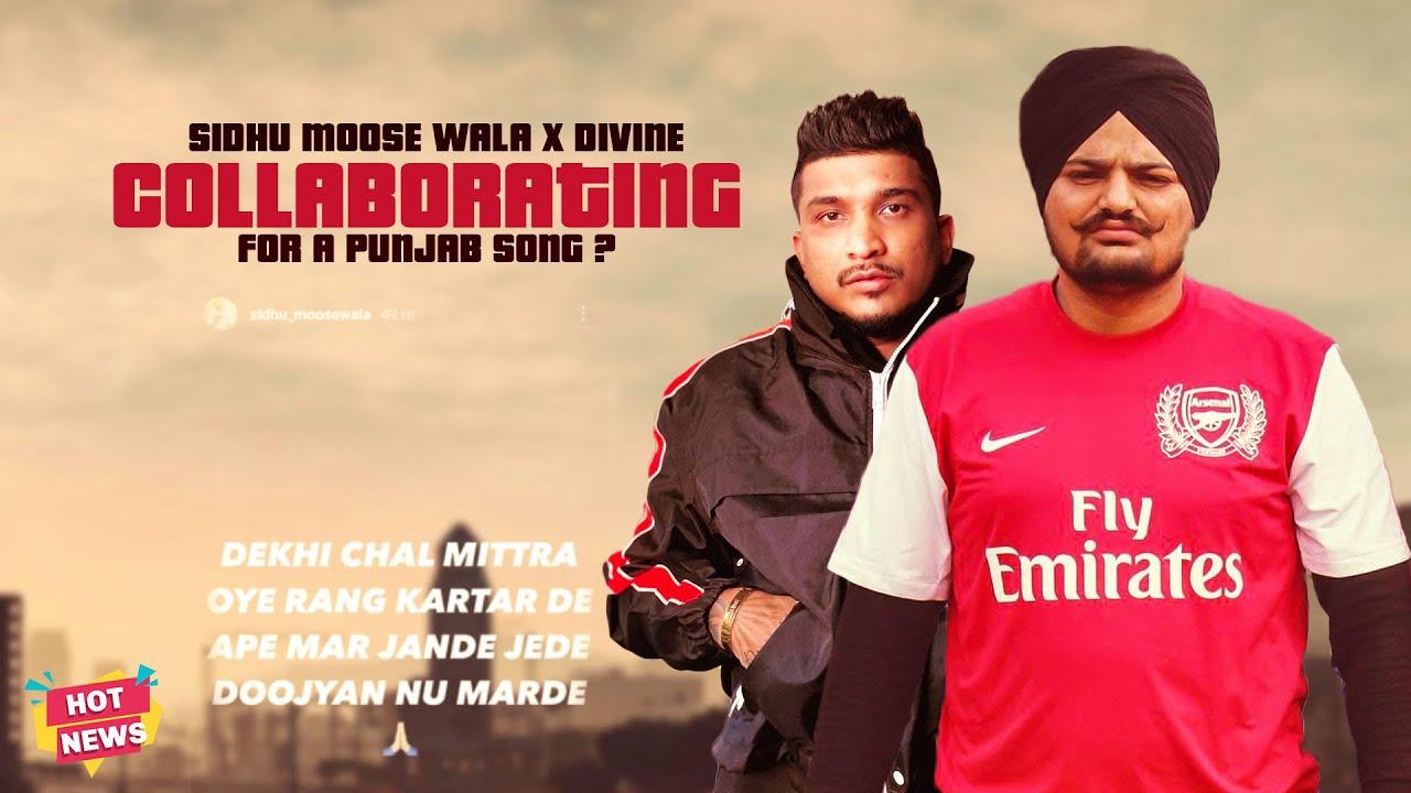 Sidhu Moose Wala x Divine Collaborating Punjabi Song ?   Hot News   Star Catchers Punjabi