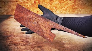 Old kitchen knife will be reborn!!