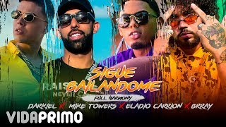 Cover images YannC, Darkiel, Myke Towers, Eladio Carrion, Brray - Sigue Bailandome [Official Video]