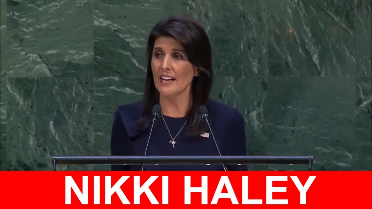 Image result for Nikki Haley Just Blew The Doors Off The U.N. With Speech About Obama's Incompetence