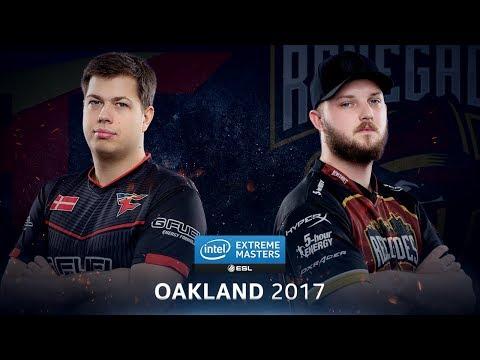 CS:GO - FaZe vs. Renegades [Train] - Group B ROund 3 - IEM Oakland 2017