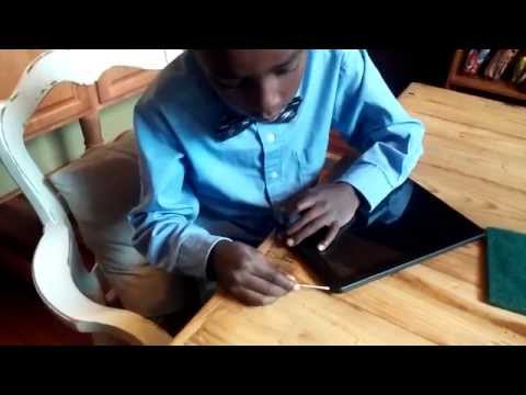 White screen and lines on tablet, repair no video - Fix it Fik