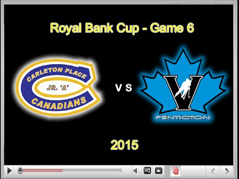 Royal Bank Cup 2015 - Game 6 - CPC vs Vees