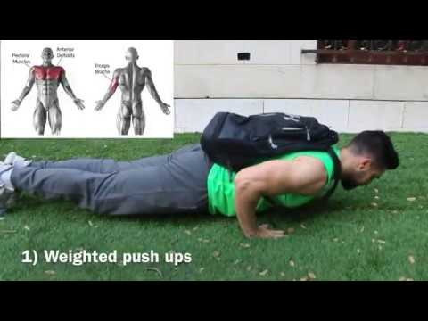 best home push exercises  build  maintain muscle no