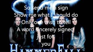 Watch Hammerfall Send Me A Sign video