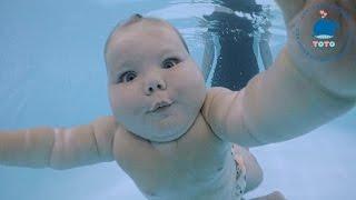 Плавание для детей с 2 месяцев до 7 лет