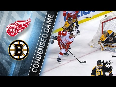 03/06/18 Condensed Game: Red Wings @ Bruins