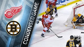 03/06/18 Condensed Game: Red Wings @ Bruins