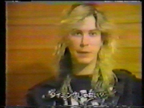Interview with Duff and Steven, Japan 1988
