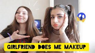 Реакция подписчиков на макияж подруги