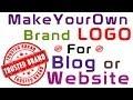 How to Make a Brand Logo for your Blog or Website - AskRam