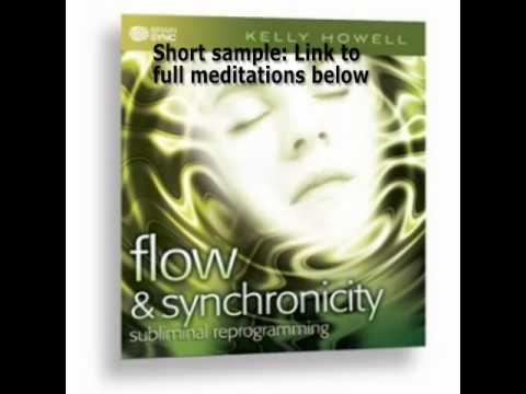 Flow & Synchronicity MP3 Manifest With Ease Theta Waves Brain Sync Kelly Howell Tk  1