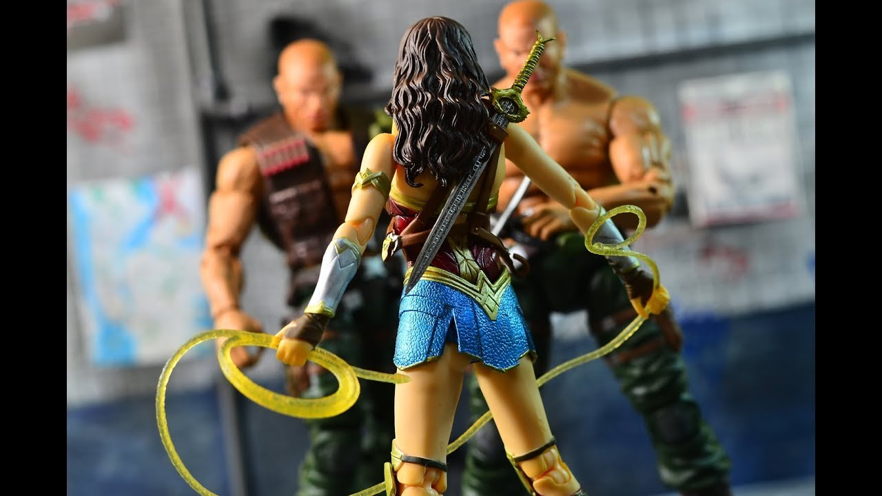 Medicom Wonder Woman Movie Wonder Woman Maf Ex Action Figure