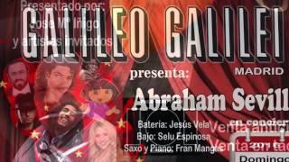 Abraham Sevilla en Sala Galileo Galileo 3 de enero 2016