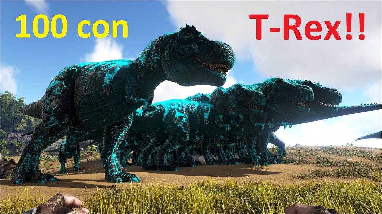 ARK: Survival Evolved - Thử Thách 100 Con T-Rex vs Bạo Chúa Darkstar (ARK Eternal)