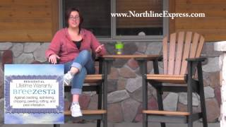 Breezesta Maintenance Free Patio Furniture - Cedar Tete-a-tete Table Top