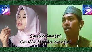 Video Smule Hasbi Santri Cantik Merdu duet Santri Cowok sampai terpana bengong download MP3, 3GP, MP4, WEBM, AVI, FLV September 2018