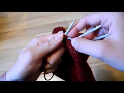 Del 4/5. Stickad tröja till katt/liten hund : Minska, sticka resår och maska av