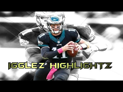 """Carson Wentz 2016 Rookie Highlights """"The Franchise"""""""