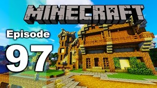 Minecraft with Jansey 1.10 | Episode 97 | Pub Build | Survival Let's Play