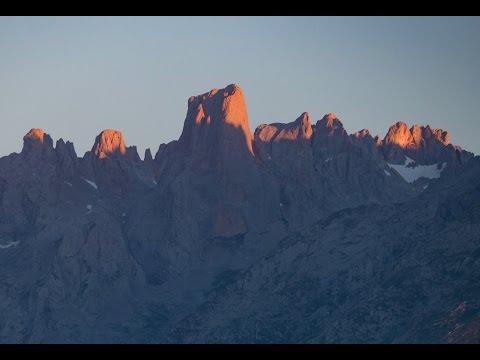 The Picos De Europa And Costa Verde Spain
