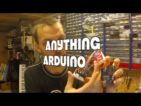 Arduino and two 595 with a 4 digit 7 segment LED display [Anything Arduino] ep 22