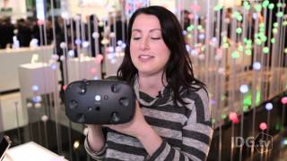 The HTC Vive headset will make you believe in virtual reality