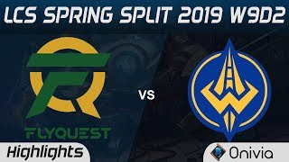 FLY vs GGS Highlights LCS Spring 2019 W9D2 Flyquest vs Golden Guardians LCS Highlights by Onivia
