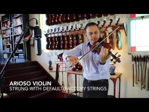 Arioso Violin Demonstration | Simply For Strings