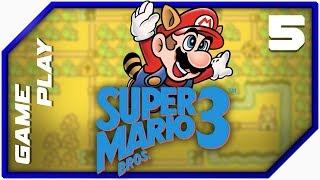 Super Mario Bros 3 - Gameplay Twitch #5