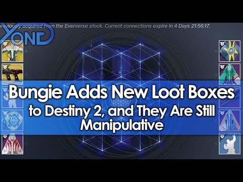 Bungie Adds New Loot Boxes to Destiny 2, and They Are Still Manipulative